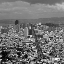 San Francisco, 2005, Black & White